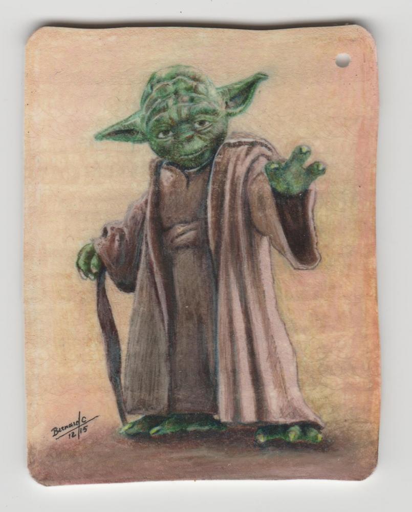 Yoda by BernardC